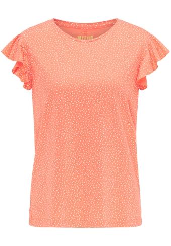 MUSTANG T - Shirt »Alina UB Ruffle« kaufen