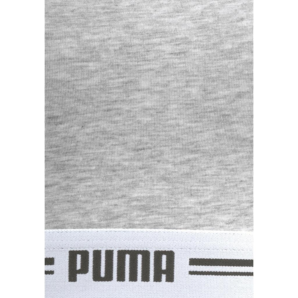 PUMA Bustier »Iconic Racerback Bra«, mit Racerback