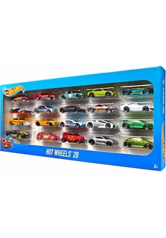 Hot Wheels Spielzeug-Auto »Hot Wheels® 20er Geschenkset« kaufen