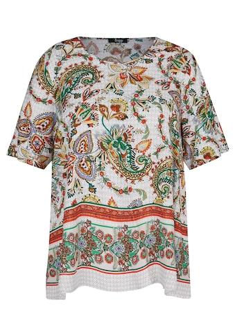 FRAPP Shirtbluse, mit Paisley-Muster kaufen