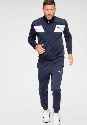 PUMA Trainingsanzug »Techstripe Tricot Suit OP« (Set, 2 tlg.) kaufen
