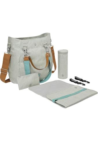 Lässig Wickeltasche »Green Label Mix'n Match Bag, Light Grey«, inklusive Wickelunterlage kaufen