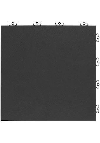Bergo Flooring Terrassenplatten »Kunststofffliese Elite anthrazit«, Klickfliesen 2 m² kaufen