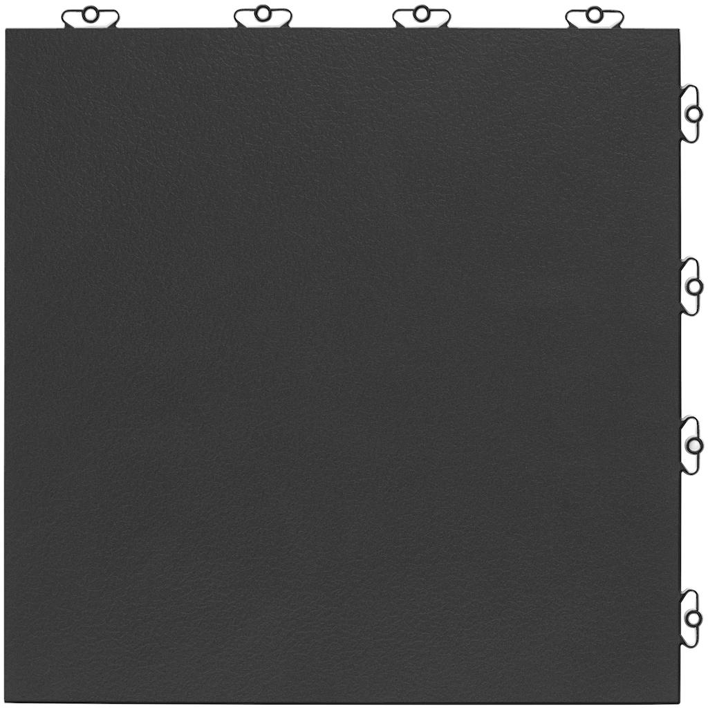 Bergo Flooring Terrassenplatten »Kunststofffliese Elite anthrazit«, Klickfliesen 2 m²