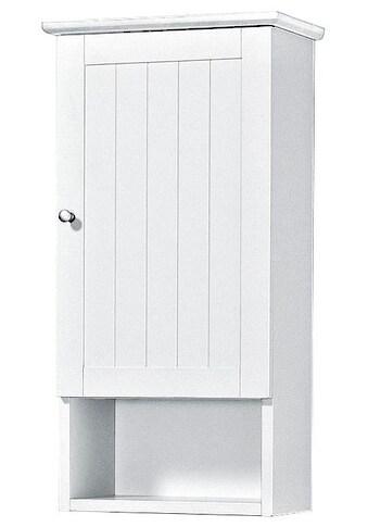 welltime Hängeschrank »Venezia Landhaus«, Badmöbel aus Massivholz, Breite 33 cm kaufen