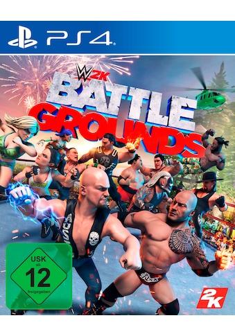 2K Spiel »WWE 2K Battlegrounds«, PlayStation 4 kaufen