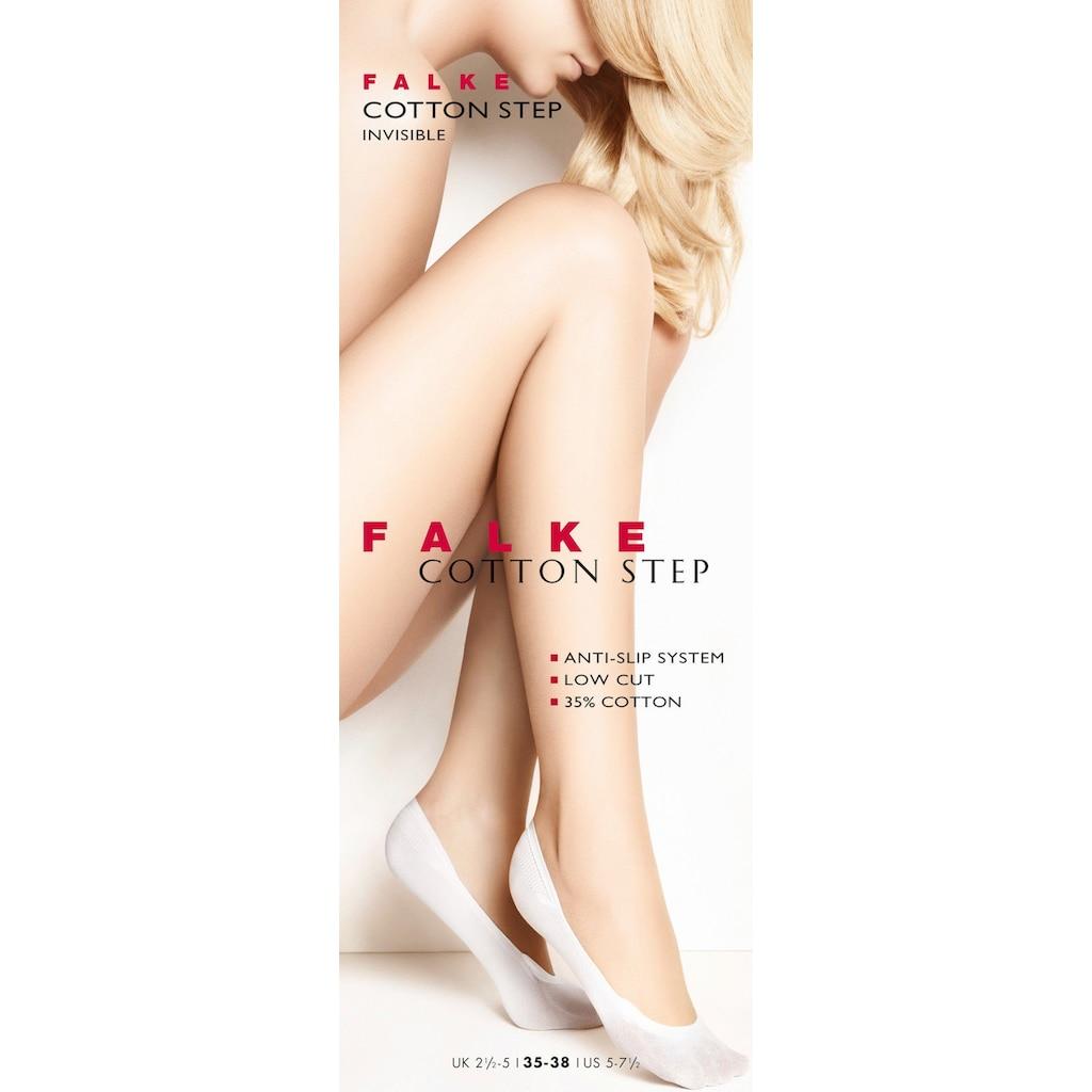 FALKE Füßlinge »Cotton Step«, (1 Paar), rutschfest durch Anti-Slip System