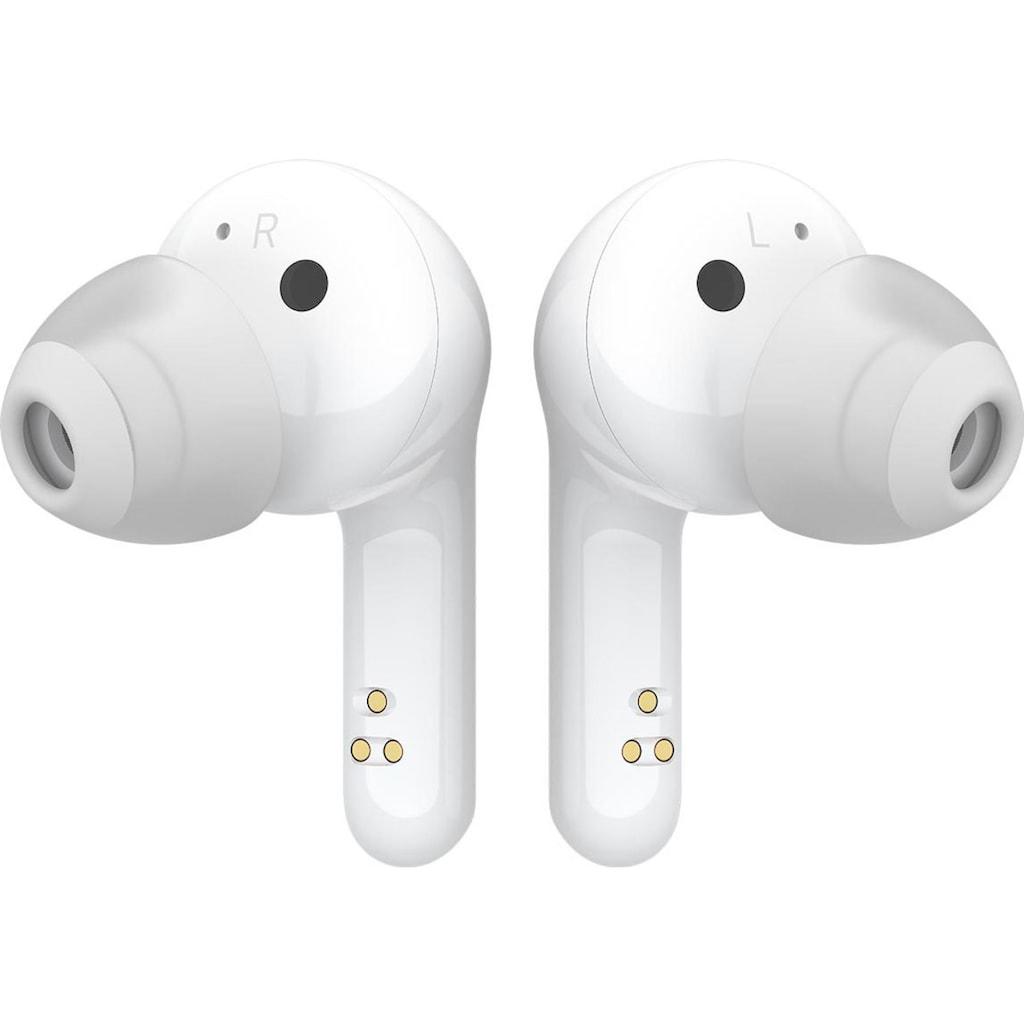 LG In-Ear-Kopfhörer »FN6 Macaron Jellybean Hardbundle«, Bluetooth, Sprachsteuerung-Noise-Reduction-LED Ladestandsanzeige-True Wireless, inkl. Bluetooth-Speaker (UVP 69,99) und Macaron Case (UVP 9,99)