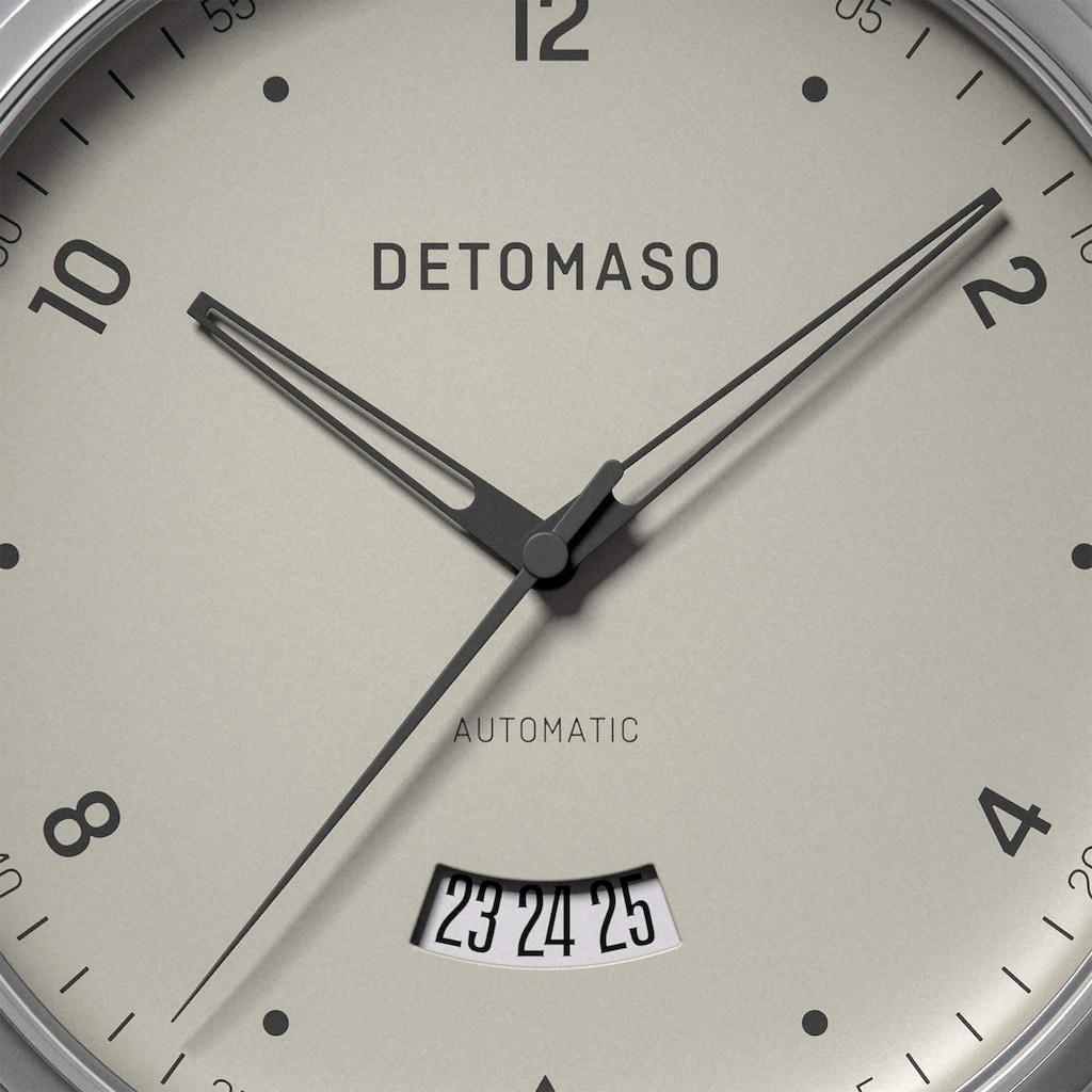 DETOMASO Automatikuhr »VIAGGIO AUTOMATIC IVORY«