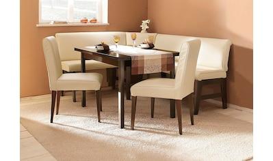 Eckbankgruppe »Susanne«, (Set, 4 tlg.), (Eckbank, Tisch und 2 Stühle), Bezug in... kaufen