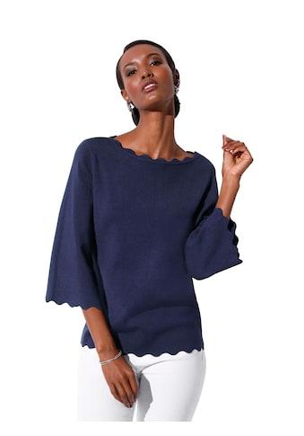 Creation L Pullover aus edlem, formbeständigem Feinstrick kaufen