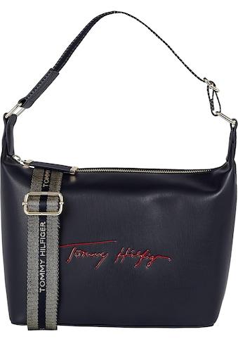 Tommy Hilfiger Hobo »ICONIC TOMMY HOBO SIGN«, mit Logo Schriftzug kaufen