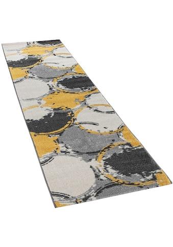 Paco Home Läufer »Pattern 129«, rechteckig, 18 mm Höhe, Teppich-Läufer, Kurzflor,... kaufen