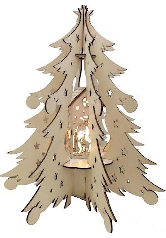 BONETTI,LED Dekoobjekt»Holztannenbaum«, kaufen