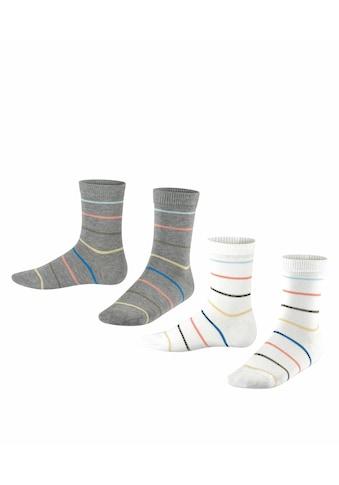 Esprit Socken »Colorful Stripes 2-Pack«, (2 Paar), aus Biobaumwolle kaufen
