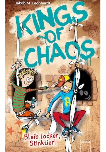 Buch »Kings of Chaos / Kings of Chaos (3). Bleib locker, Stinktier! / Jakob M. Leonhardt, Sebastian Heidel« kaufen