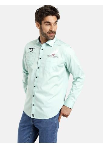 Jan Vanderstorm Langarmhemd »JALO«, sportives Baumwollhemd kaufen
