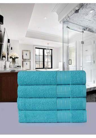Emotion Handtücher »Uni«, (4 St.), mit großer Farbauswahl kaufen