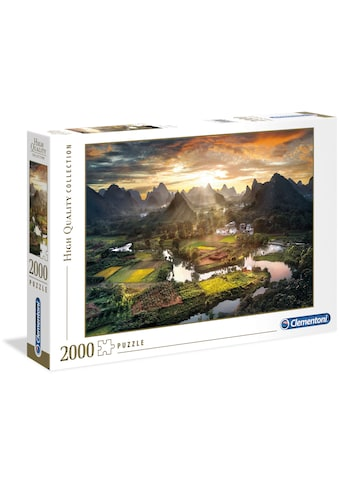 Clementoni® Puzzle »High Quality Collection - Tal in China«, Made in Europe kaufen