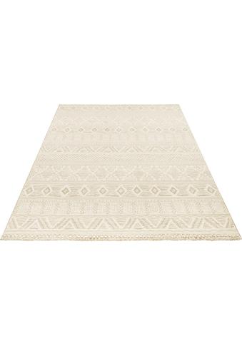 ELLE Decor Teppich »Roanne«, rechteckig, 11 mm Höhe, dichter Kurzflor, Boho- Ethno-Look, Wohnzimmer kaufen