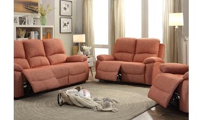 Home affaire Sessel »Marina«, mit Relaxfunktion und Federkern-Polsterung kaufen