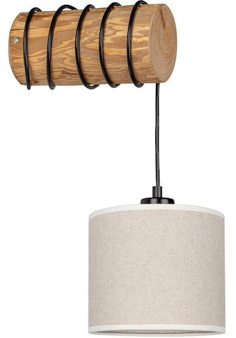 OTTO products Wandleuchte »Emmo«, E27, Wandlampe mit hochwertigem Textilschirm Ø 17,5... kaufen