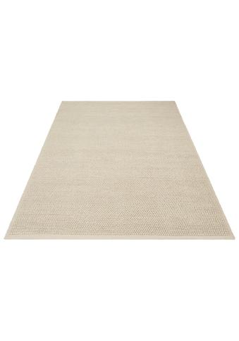 Home affaire Wollteppich »Seebu Loop«, rechteckig, 10 mm Höhe, reine Schurwolle, Wohnzimmer kaufen