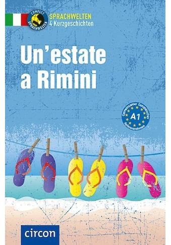 Buch »Un'estate a Rimini / Alessandra Felici Puccetti, Tiziana Stillo, Roberta Rossi« kaufen