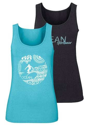 Ocean Sportswear Tanktop, (Packung, 2er-Pack), mit unterschiedlichen Drucken kaufen