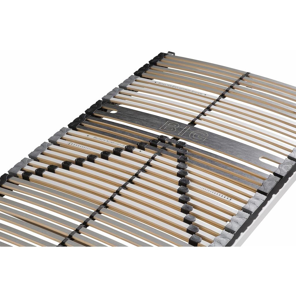 BeCo EXCLUSIV Lattenrost »Big-Stabil & Fest NV«, 42 Leisten, Kopfteil nicht verstellbar, geeignet für schwergewichtige Personen (bis 180 kg)