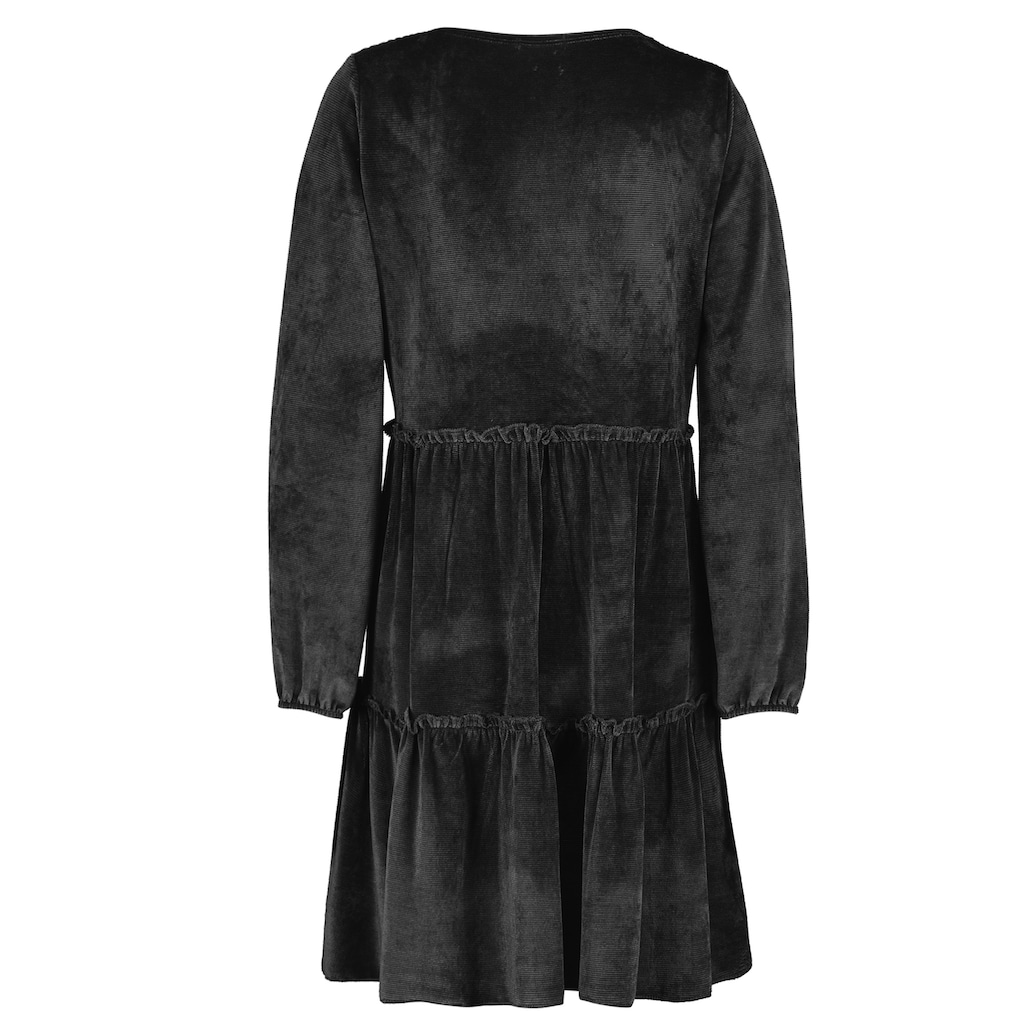 SUBLEVEL A-Linien-Kleid, aus Cord