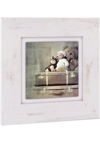 Home affaire Holzbild »Kuscheltiere auf Koffer« kaufen