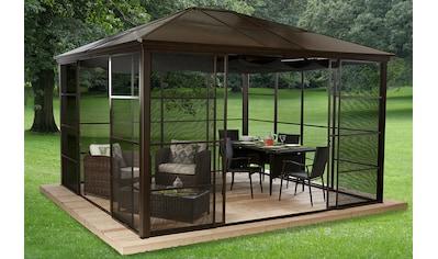Sojag Pavillon »Castel 12x14«, (Set), BxT: 362x427 cm, inkl. Sonnensegel kaufen