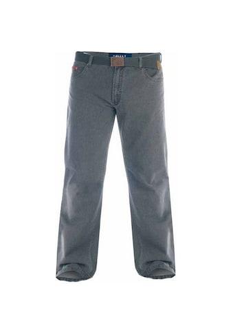 Duke Clothing Cordhose »London Herren Kingsize Canary Bedford Kord Hose mit Gürtel« kaufen