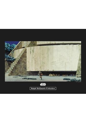 Komar Poster »Star Wars Classic RMQ Yavin Temple«, Star Wars kaufen