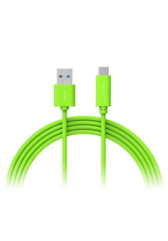 XLAYER Kabel »Colour Line Typ C (USB - C) to USB 3.0 1m Green« kaufen