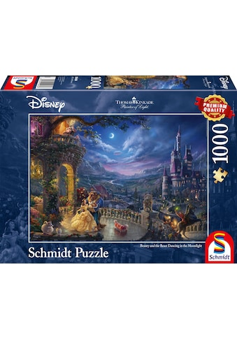 Schmidt Spiele Puzzle »Disney Die Schöne und das Biest, Tanz im Mondlicht«, Made in Germany kaufen