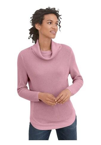 Casual Looks Pullover im schönen Strickmuster kaufen