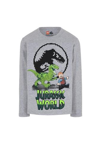 """LEGO® Wear Langarmshirt »M-22662«, """"Druck mit dem Velociraptor Dinosaurier und Owen... kaufen"""