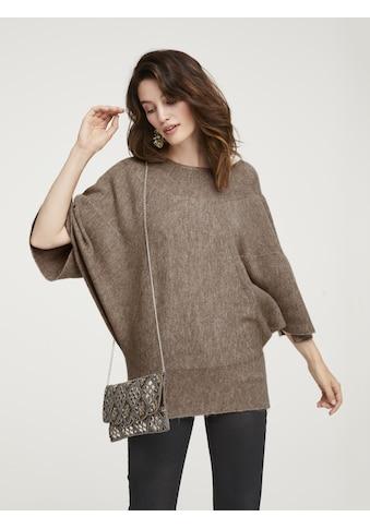 Pullover in Poncho - Optik kaufen
