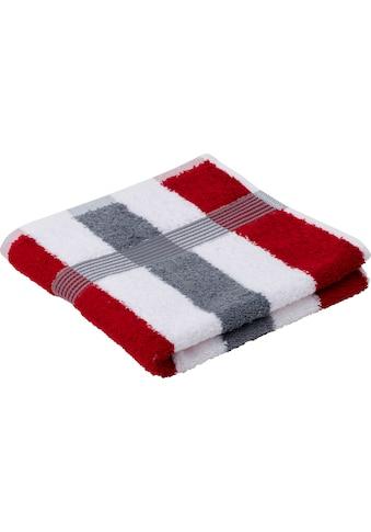 Gözze Handtücher »New York Streifen«, (2 St.), mit strukturierter Borte kaufen