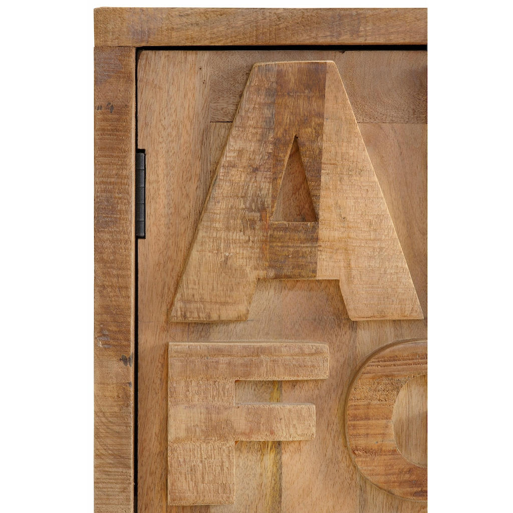 Home affaire Sideboard »ABC«, Breite 120 cm