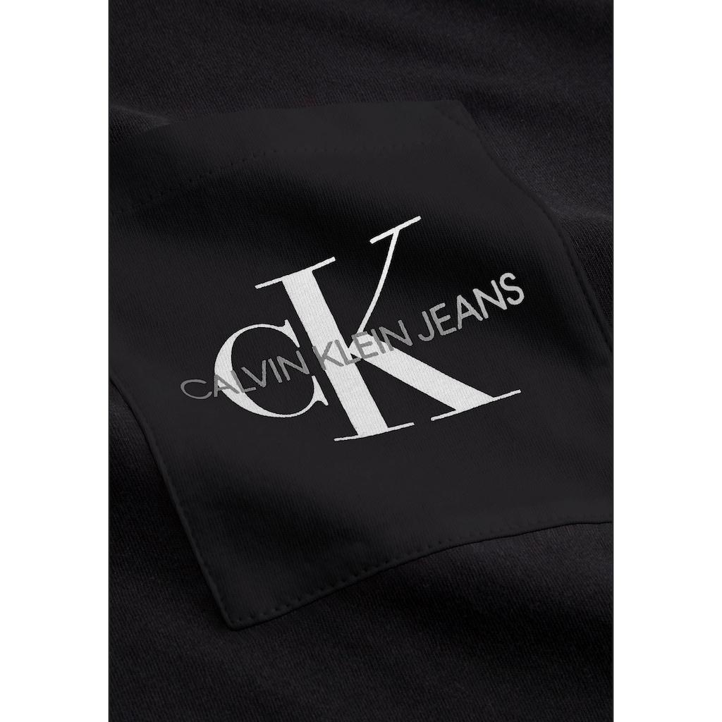 Calvin Klein Jeans T-Shirt »MONOGRAM POCKET SLIM TEE«