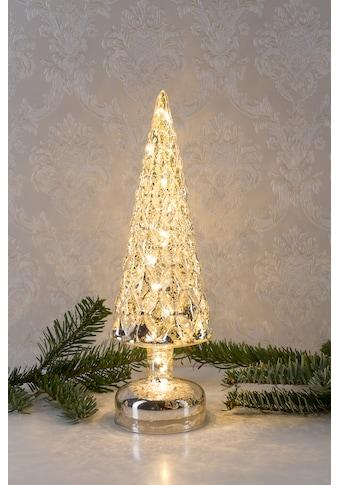 HGD Holz - Glas - Design Beleuchteter Weihnachtsbaum aus Mercury - Glas kaufen