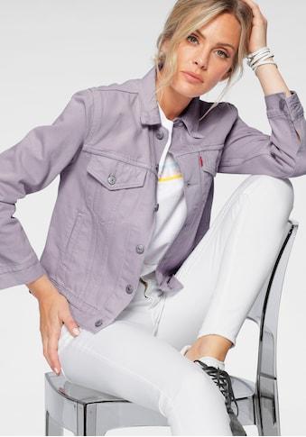 Levi's® Jeansjacke »Ex-Boyfriend Trucker«, aus colored Denim kaufen