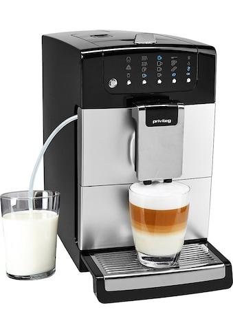 Privileg Kaffeevollautomat Kegelmahlwerk, 1,4l Tank, Kegelmahlwerk kaufen