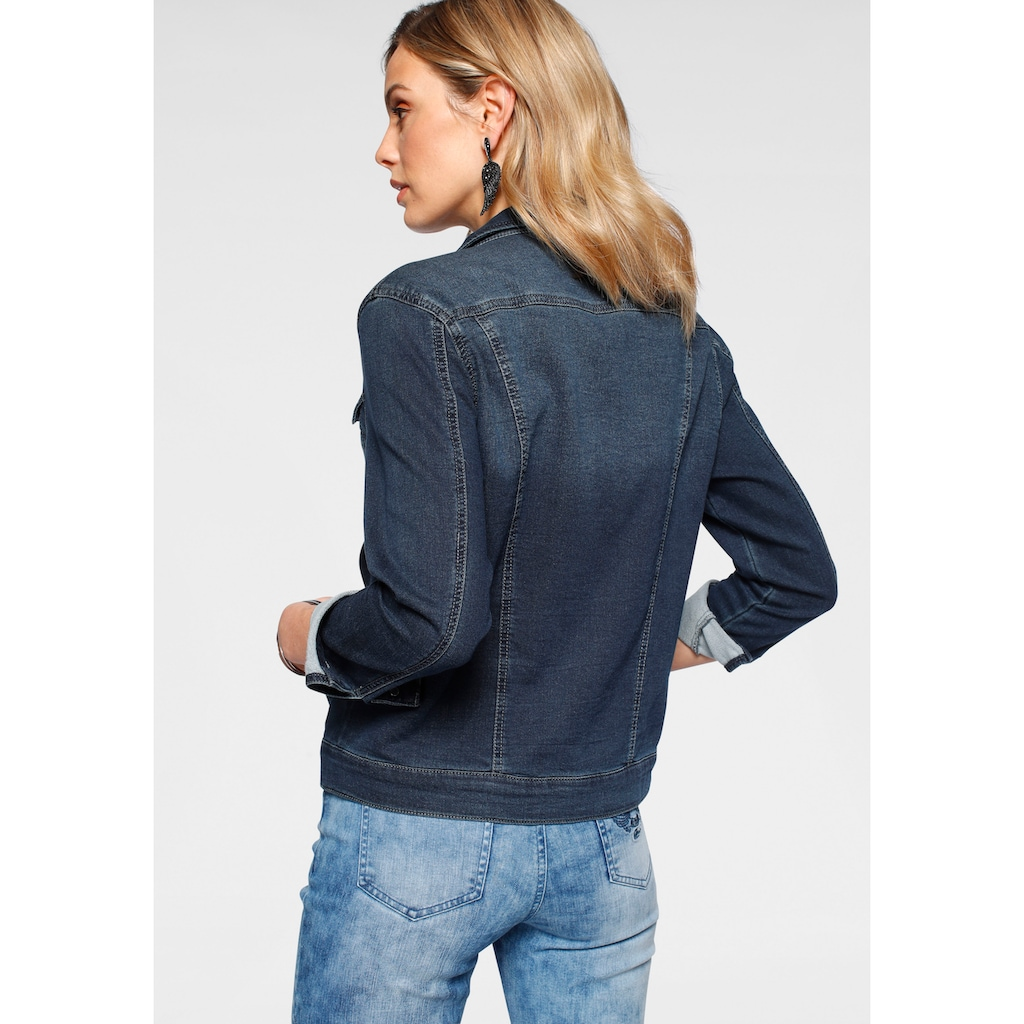 Arizona Jeansjacke, aus Jogg-Denim