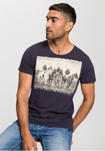 CAMP DAVID Print-Shirt, mit Rundhals kaufen