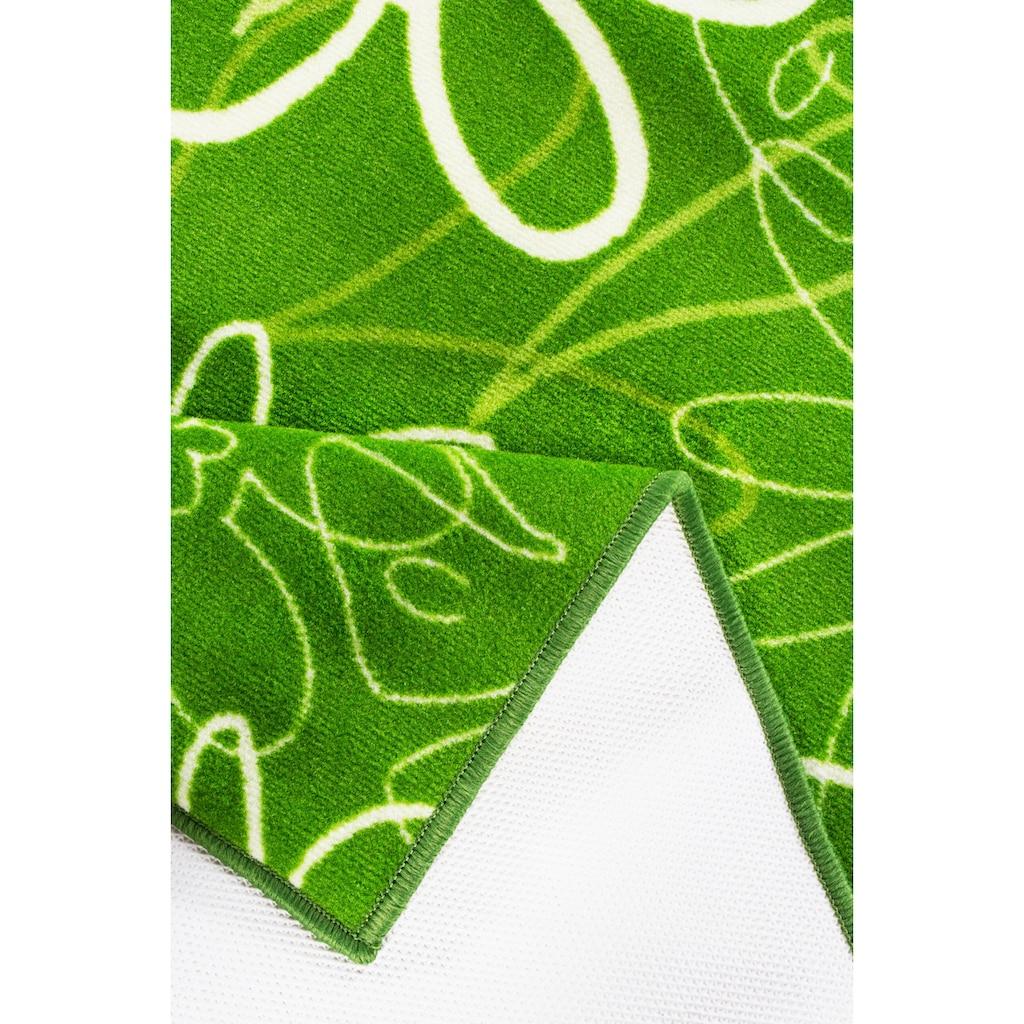 Andiamo Küchenläufer »Ranke«, rechteckig, 4 mm Höhe, Blumen Design