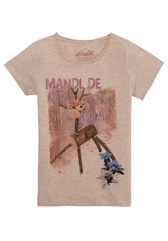 Hangowear Trachtenshirt »Wilfriede«, Damen, mit Glitzerelementen kaufen